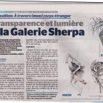 Article Sandra Godin, Journal de Québec, 18 oct. 2015