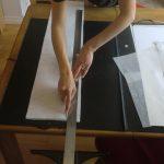 montage, assemblage des papiers