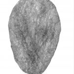 Fantôme 01, 2018, encre et graphite sur papier, 70 x 45 cm