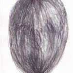 Silences, 2018, graphite, encre, stylo, aquarelle sr papier