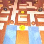 colorisation du cheval de troie pour un jeu d'équipe au Musée de la Civilisation