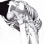 3. Illustration, 2015, impression, encre, pastel et graphite sur papier, 8,5'' x 11'' Collection privée,  Reproductions numérotées disponibles