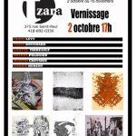 visuel Exposition d'estampes et de dessins, Galerie Tzara, Québec